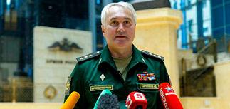 Генштаб: США подтверждали наличие террористов перед ударами авиации РФ