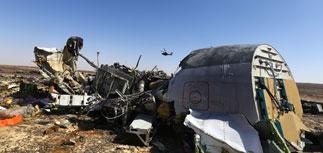 Власти РФ заявили о возможном теракте на борту пассажирского самолета А321