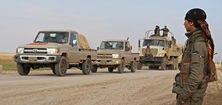Военные РФ наблюдали за штурмом города на севере Сирии