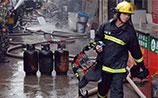 В Китае произошел мощный взрыв на химическом заводе
