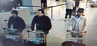 Опознан и задержан третий подозреваемый во взрывах в аэропорту Брюсселя