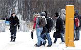 В Кандалакше десятки беженцев вышли на митинг. Они не хотят оставаться в РФ