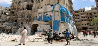 При авиаударе по госпиталю в Алеппо погибли десятки человек