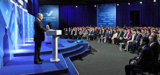 """Путин: """"информационные атаки"""" на меня - это реакция на укрепление России"""