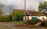 В Ростовской области смерчи срывали кровли домов и переворачивали машины