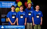 Команда СПбГУ одержала победу на студенческой олимпиаде по программированию
