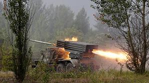 Под Дебальцевым второй день идут тяжелые бои ВСУ с сепаратистами