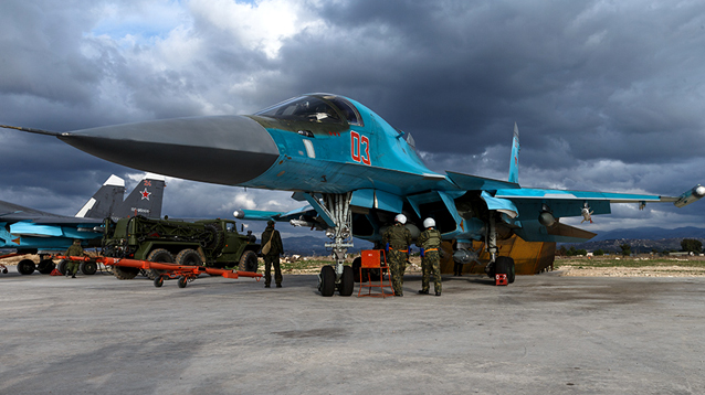 СМИ узнали о возобновлении авиационных ударов российских ВКС по Сирии