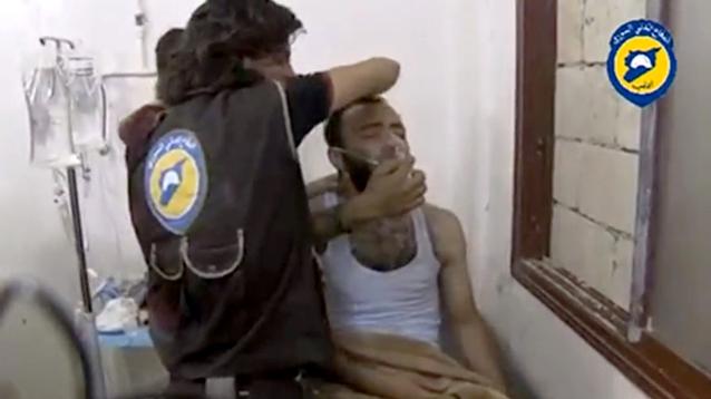 В районе крушения Ми-8 в Сирии местных жителей травили хлором