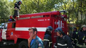 Посольство Украины в Москве забросали яйцами во время акции, есть задержанные