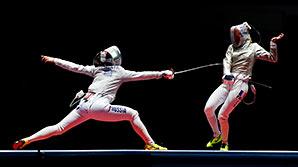 Российские саблистки завоевали золото и серебро олимпийского турнира