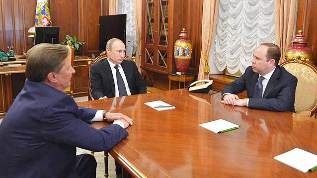 Сергея Иванова отстранили от должности главы администрации президента