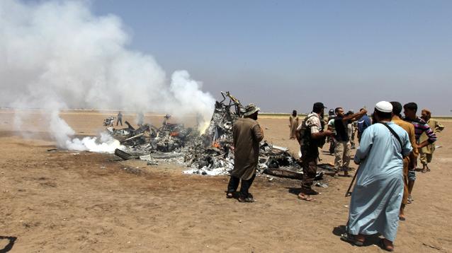 В Сирии сбит российский вертолет, никто не выжил