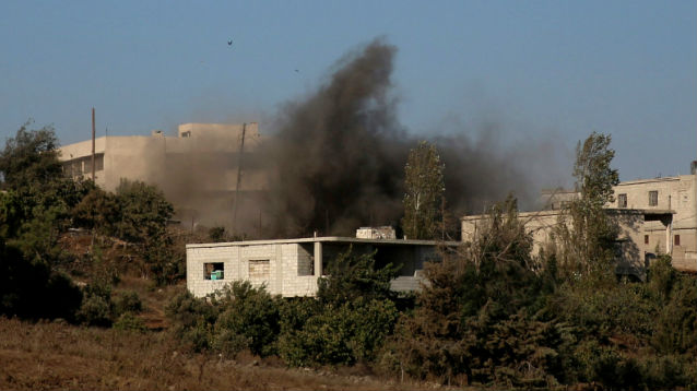 Десятки сирийских военных погибли под авиаударом коалиции США