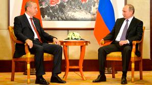 Путин в Ханчжоу выслушал благодарности Эрдогана за возврат чартеров
