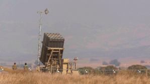 Израильская ПРО впервые перехватила сирийскую ракету над Голанскими высотами