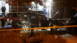 """В Тбилиси подорвали машину Гиви Таргамадзе, разыскиваемого по """"болотному делу"""""""
