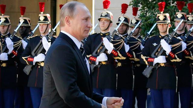 Le Monde: для властей Франции визит Путина был серьезной головной болью