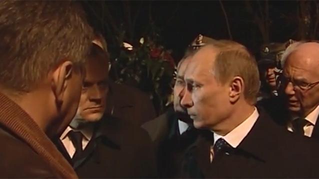 Польша обнародовала запись встречи Путина и Туска после крушения самолета Качиньского