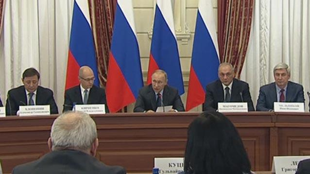 Путин призвал разработать закон о российской нации