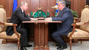 """Сечин доложил Путину о завершении сделки по приватизации акций """"Роснефти"""""""