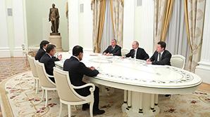 """Путин встретился с иностранными покупателями акций """"Роснефти"""""""