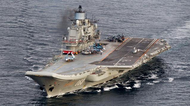 """Поход """"Адмирала Кузнецова"""" в Сирию может завершиться уже в январе"""