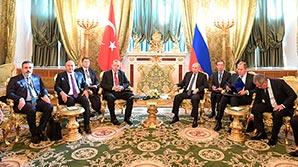 """Путин и Эрдоган обсудили """"очень эффективный контакт"""" спецслужб РФ и Турции"""