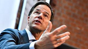 """Голландский премьер про  разозленного Эрдогана: """"это, безусловно, выходит за рамки"""""""