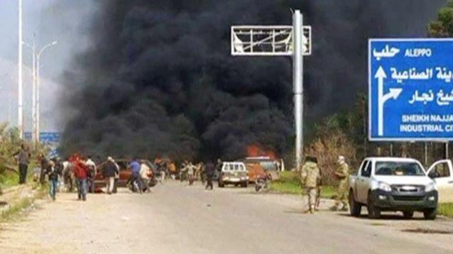 В Сирии взорвали автобусный конвой с беженцами