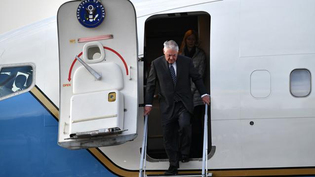 Глава Госдепартамента США прилетел в Москву. Начался его двухдневный визит