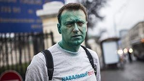 """Блогеры узнали """"размытых"""" напавших на Навального: ранее они грозили ему """"ведром зеленки"""""""