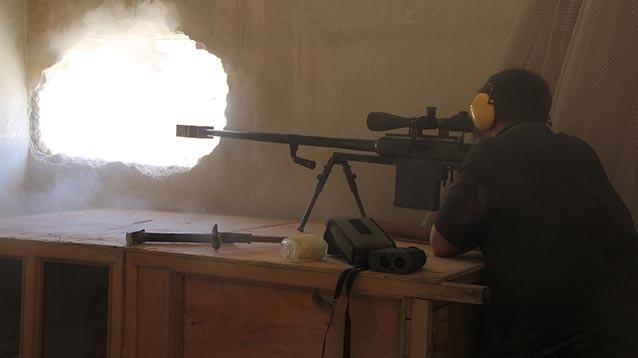 В Сирии от рук снайпера погиб российский военный