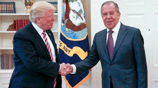 Санкции США против РФ остаются в силе после встречи Лаврова с Трампом