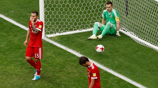 Россия проиграла Мексике место в полуфинале Кубка конфедераций
