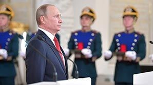 Путин на фоне протестов выступил с речью о консолидации общества и единстве целей