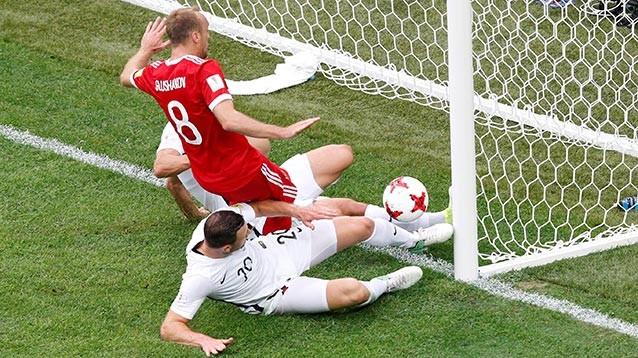Россия выиграла у Новой Зеландии на старте Кубка конфедераций