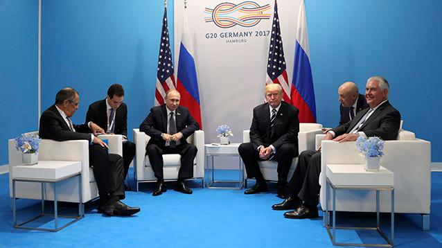 Трамп принял заверения Путина о невмешательстве России в американские выборы