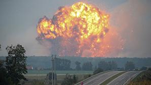 Ущерб от пожара на военном складе в Винницкой области оценили в 800 млн долларов