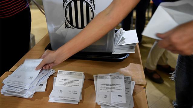 Мадрид продолжил утверждать, что референдума о независимости Каталонии не было