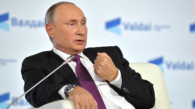 Путин назвал улучшение  политической системы задачей следующего президента
