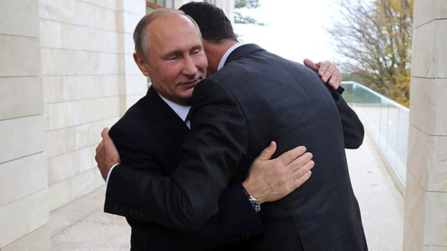 Госдеп сделал далекоидущие выводы на основе фотографии Путина с Асадом