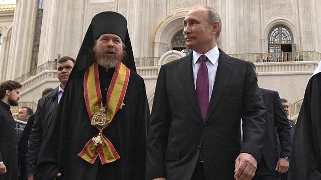 """На проекты """"духовника"""" Путина из бюджетов разных уровней было выделено 10 млрд рублей"""