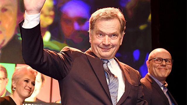 Саули Ниинисте легко переизбрался на пост президента Финляндии