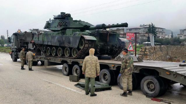 Турция привела в повышенную боевую готовность вооруженные силы на границе с Сирией