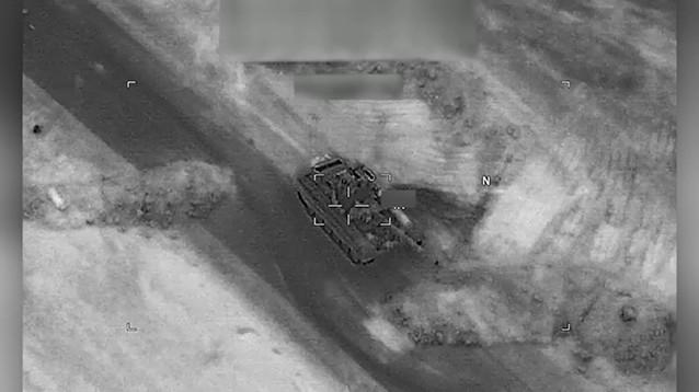 CNN опубликовал видео авиаударов коалиции в Дейр эз-Зоре, где погибли российские наемники