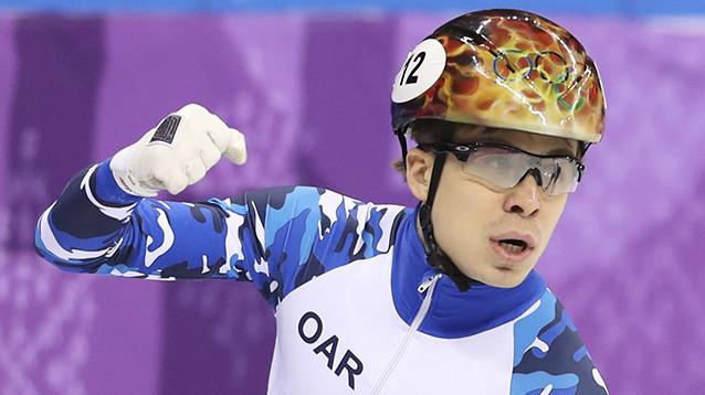 Первая российская медаль Олимпиады