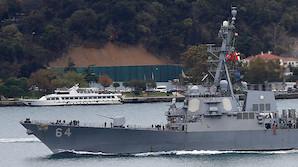 ВМС США объяснили появление сразу двух своих ракетных эсминцев в Черном море