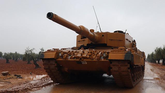 Турецкие военные атаковали сторонников Асада при попытке прорваться в Африн