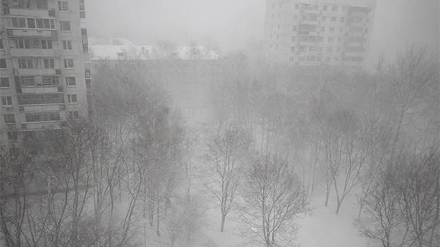 Снегопад в Москве уже побил рекорды, и это только начало (ФОТО)